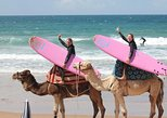 Group Surf Class with a professional ISA Surf Instructor