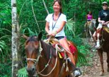Ziplining and Horseback Riding Experience from Cancun