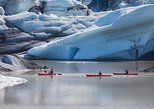 Kayaking on the Sólheimajökull Glacier Lagoon
