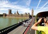 London: Vintage-Bustour mit Bootstour auf der Themse und optionalem Mittagessen