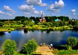 All-Inclusive Private Day Tour to Harbin Volga Manor Including Russian Show