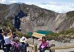 Irazu Volcano National Park, Cartago City and Orosi Valley from San Jose