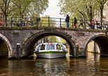 Amsterdam Hop-On Hop-Off Boat Tour with ticket to A'DAM LOOKOUT