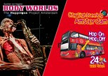 Amsterdam Combo: Body Worlds & City Sightseeing Hop-On Hop-Off Bus
