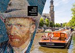 Amsterdam Super Saver: Van Gogh Museum Entrance Ticket & 1-Hour Canal Cruise
