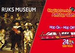 Amsterdam Super Saver: Rijksmuseum & City Sightseeing Hop-On Hop-Off Boat