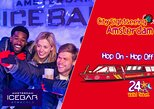 Amsterdam Super Saver: XtraCold Icebar & City Sightseeing Hop-On Hop-Off Boat