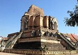 Warorot Market and Wat Chedi Luang Tour with Private Cruise