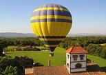 Fahrt im Heißluftballon über Katalonien mit Abholung von Barcelona