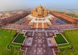 Experience Akshardham Temple and ISKCON Temple of South Delhi with Transfers