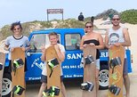 Sandboarding in Jeffreys Bay