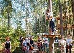 Saint Petersburg Morning Ziplining in the Rope Park