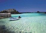 Fuerteventura, Lanzarote, and Los Lobos Glass Bottom Catamaran Cruise with Lunch
