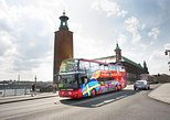 City Sightseeing Stockholm Hop-On Hop-Off Bus & Optional Boat Tour