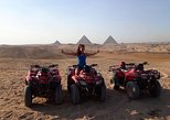Quad Bike during sunset and sound and light show at Giza Pyramids with Dinner