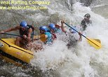 Sarapiqui River Class 3 and 4 White Water Rafting from La Fortuna