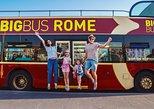 Europa - Italien: Big Bus Hop-on-Hop-off-mit Civitavecchia Hin- und Rückfahrt