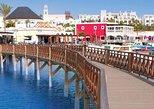Lanzarote, la playa de Papagayo, una visita al mercado en un barco con fondo de cristal. Fuerteventura, ESPAÑA