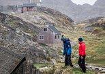 Kangeq - Abandoned settlement - Open boat