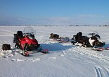 Full Day Snowmobile Driving with Ice Fishing