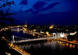 Night Helicopter Flight in Budapest