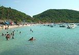 Las Gatas Island Beach Break with Snorkeling