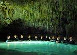 Combo Tour: Tulum Ruins Early Access Tour Plus Rio Secreto Nature Reserve