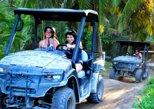 Kombinierte Punta Cana-Tour: Buggy-Geländetour und Katamaranfahrt mit Mittagessen