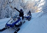 Fairbanks Snowmobile Adventure from North Pole 1 hour