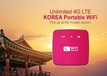 South Korea 4G LTE Portable WiFi with Incheon International Airport Pick-Up