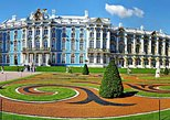 Tour of Pushkin Catherine Palace and Peterhof Grand Palace