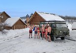 Banya experience AND Sergiyev Posad monastery onboard a classic soviet van