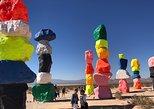 Seven Magic Mountains Art Exhibit