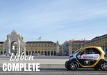 Lisbon: Self-Drive Complete City Tour in E-Cars