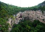 Chiapas Rappel Adventure at Sima de las Cotorras and Aguacero Waterfall