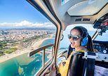 360 Open Top Luxury Minibus Tour - Helicopter flight & Boat Ride from Barcelona