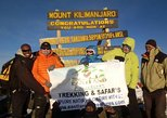 8 days Kilimanjaro trekking via Lemosho route