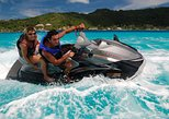 Bora Bora Jet Ski Tour, Lunch at Bloody Mary's + Shark & Stingray Snorkel Cruise