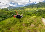 Monkeyland and Zipline Adventure from Punta Cana