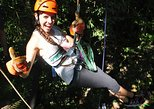 Zip lining, rappel and a Tarzan Swing