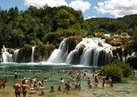 Krka Waterfalls tour - From Okrug Gornji and Trogir