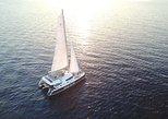 TravelToe Exclusive: Santorini Luxury Catamaran Sunset Cruise with BBQ and Drinks
