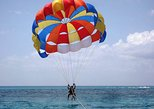 Parasailing over The Red Sea