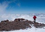 Caminhada de dia inteiro nos Andes. Mendoza, ARGENTINA