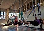 Yoga Trapeze Aerial Yoga class at Gravity Yoga