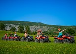 ATV Mountain & River kayak full day excursion with BBQ from Split