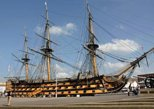 Portsmouth Historic Dockyards and HMS Victory Tour from London