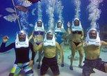 Aquanautas Helmet Diving in San Andres