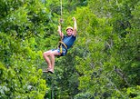 7 ZIP LINES AND CENOTE SWIM FROM CANCUN