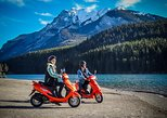 Banff National Park Independent Scooter Rental Tour, with Lesson Included